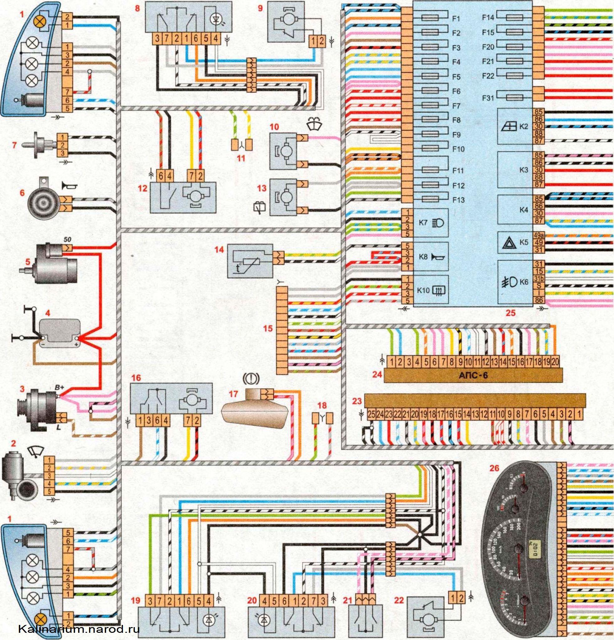 ...схема 6 май 2013 схемы генераторов электрические схемы электрическая схема лада калина май 06 электрическая схема.